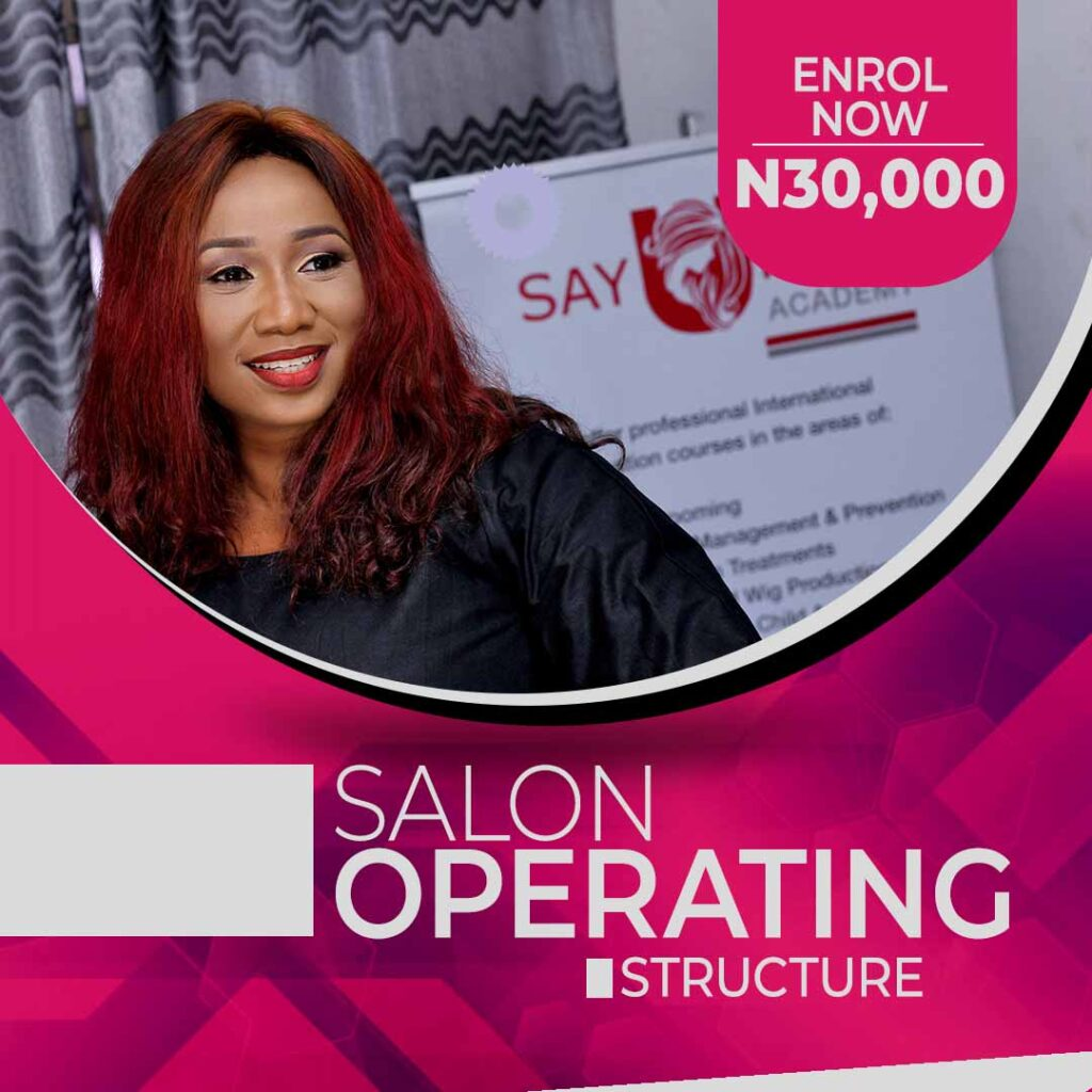 Salon Operating Structure COurse