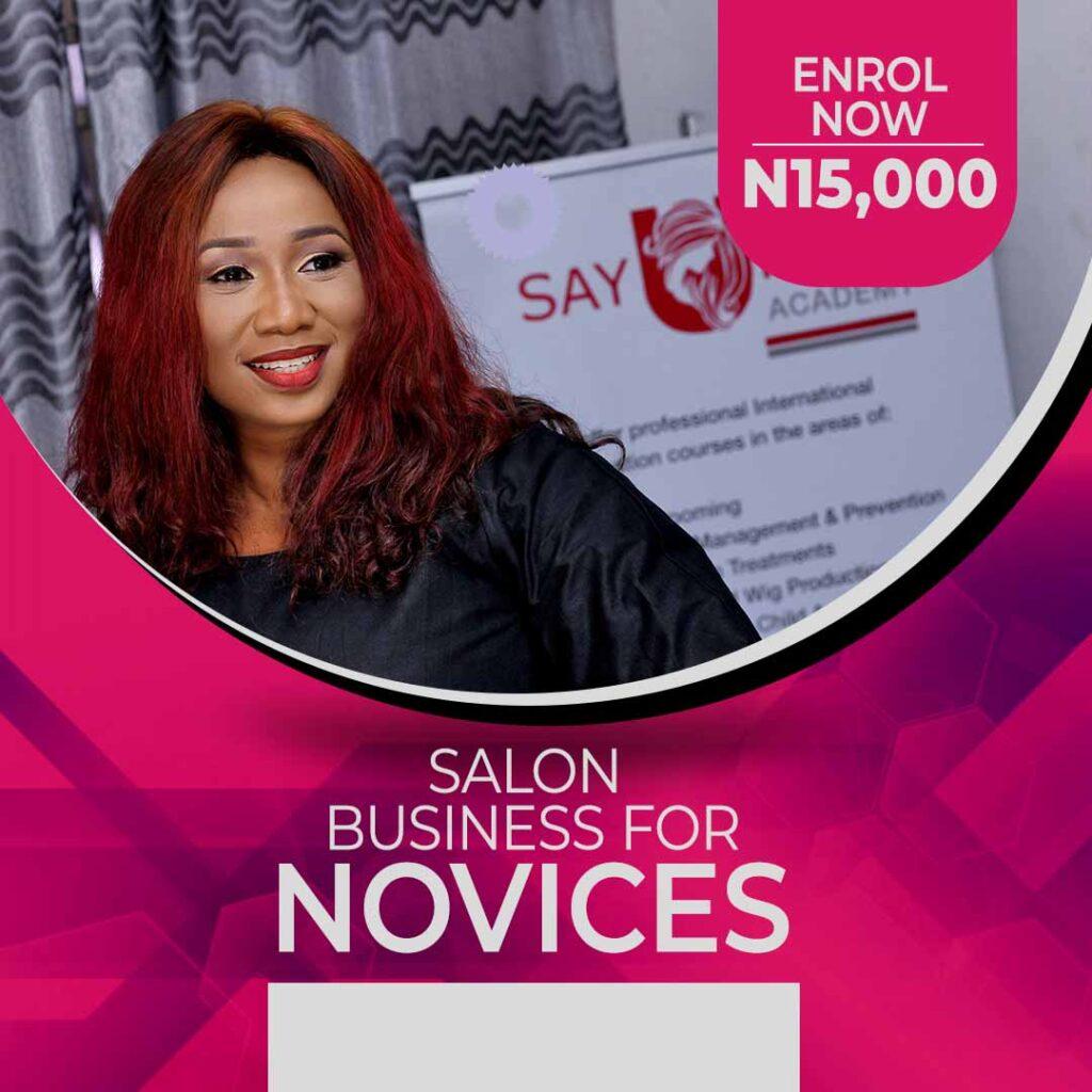 Salon Business for Novices course